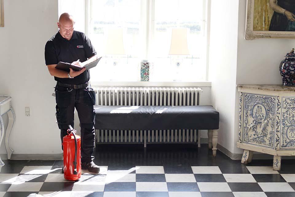Burnblock brandhæmmende spray